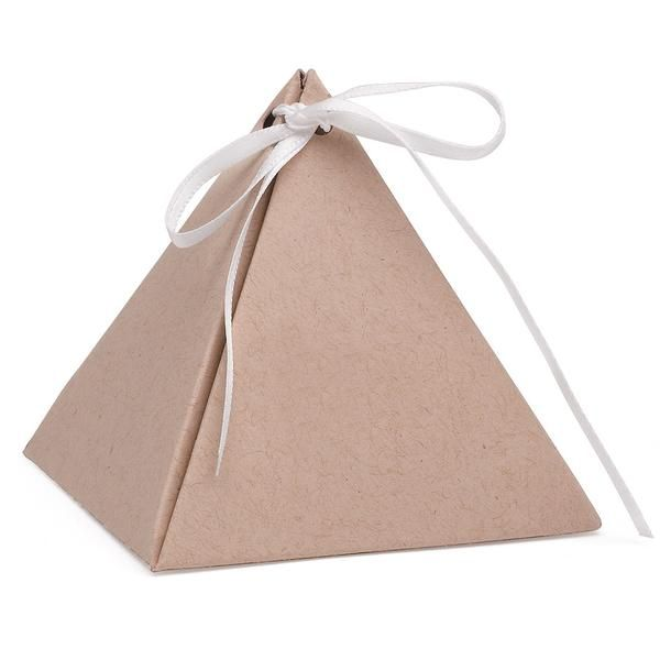 Gold Pyramid Favor Boxes : Best wedding favors images on weddings