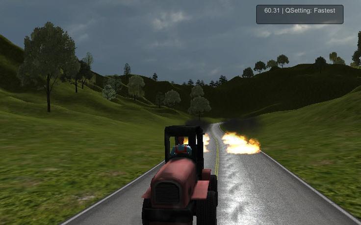 Unity 3D alt yapısı ile hazırlanan 3D Forklift Kullanma oyunu Fork Kart Test Drive isimli oyun yapımcısı demo sürümünü sizler için yayına aldı. Oyunu oynayarak keyifli dakikalar geçirmenizi sağlayabilirsiniz. Zorlu oyun bölümlerinde yollardaki ateşli efektlerin arasından hızla geçerek kaza yapmadan forklift aracını sürmeye çalışın.   http://www.3doyuncu.com/3d-forklift-kullanma/