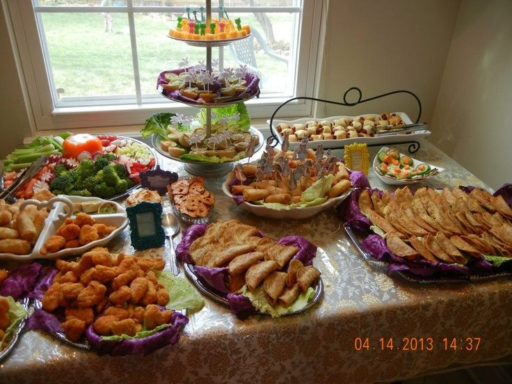 Because I catered this with my mom and we were quite busy