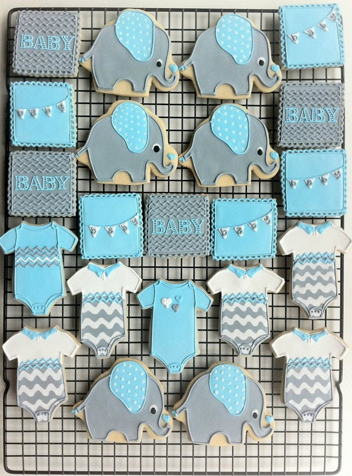 about baby boy cookies on pinterest boy shower boy baby shower