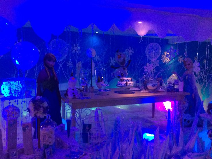Frozen Lucia's Birthday
