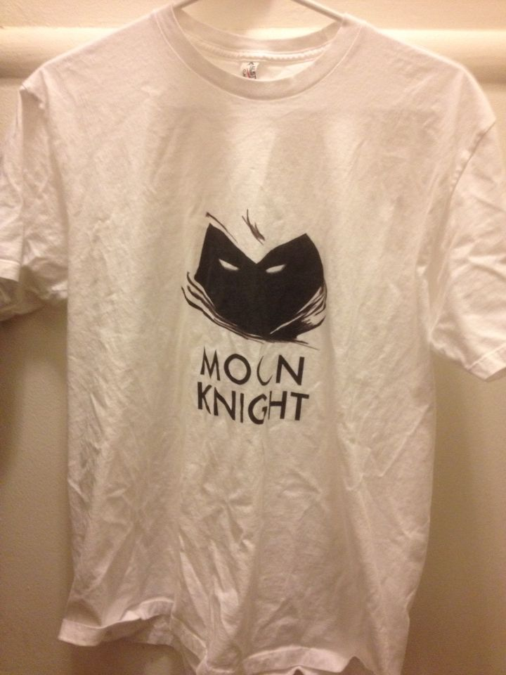 Moon Knight t-shirt (white)