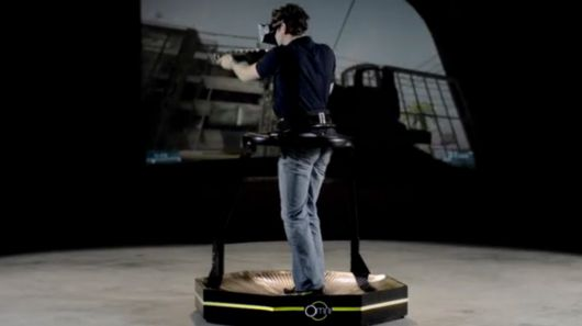 Omni gaming treadmill really gets moving on Kickstarter