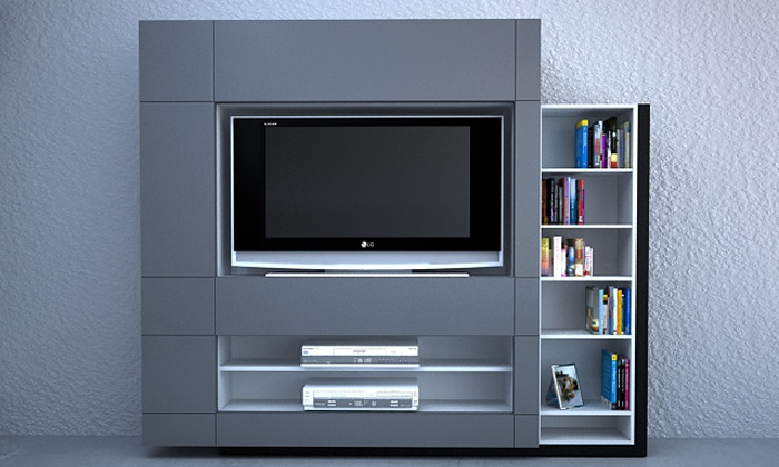 Línea Dinamo - mueble tv alto  www.rodenmobel.com