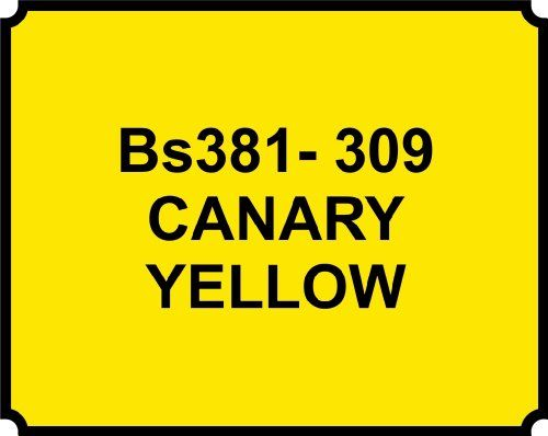CANARY YELLOW 309 PAINT - HEAT RESISTANT - 400ML AEROSOL SPRAY PAINT CAN GLOSS