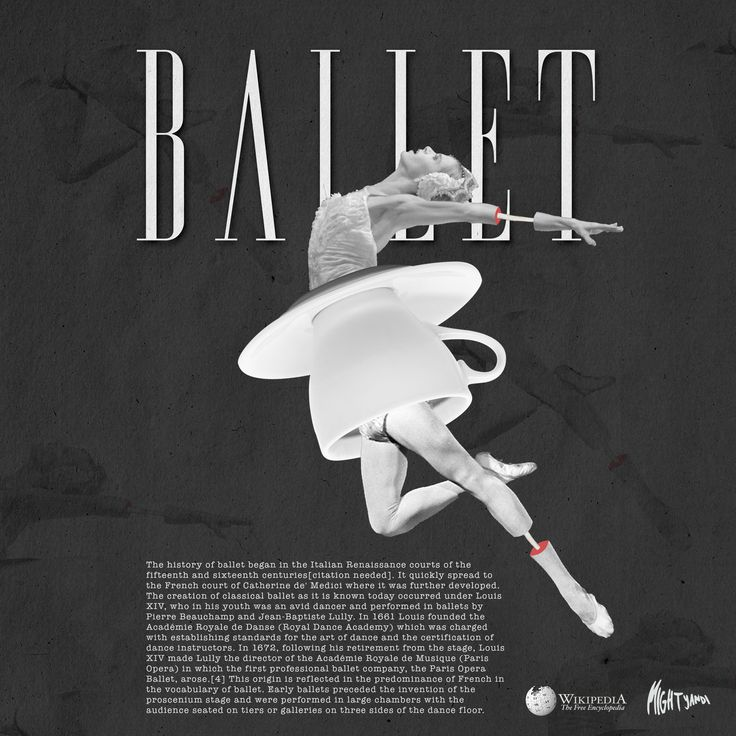Collage art - Ballet ; Personal work