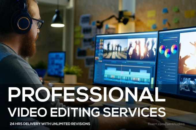 Senthudms I Will Do Professional Video Editing For 15 On Fiverr Com Video Editing Apps Video Editing Youtube Editing