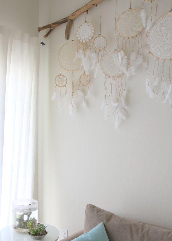 Vintage Doily Dreamcatcher No. 004 by BelleNotti on Etsy