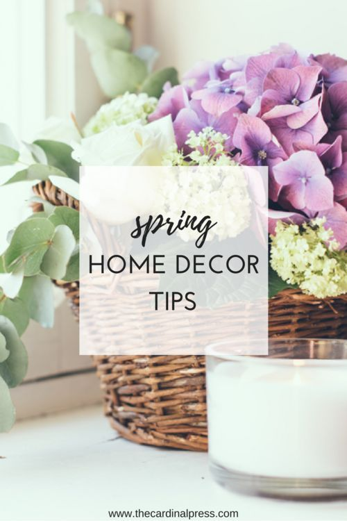 Spring has sprung and with the new season comes the opportunity to create a new and happier atmosphere for your home.