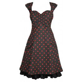 Ecouture by Lund - Norah - kjole i økologisk, bomuld, prikket