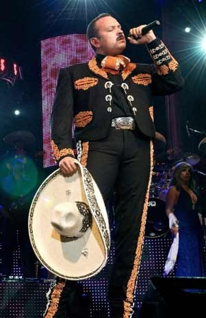 Pepe Aguilar....his voice is so damn BEAUTIFUL. It's perfection...live....even more so.