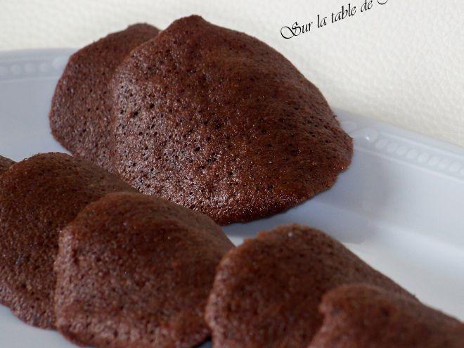 Recette Dessert : Tuiles au chocolat par Nounoune25