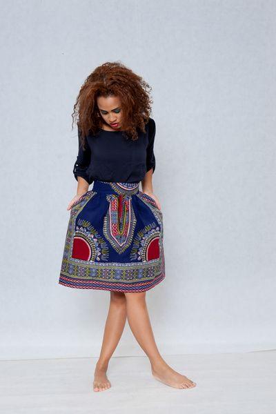 Skirt  from Gambia - Addis Abeba from KOKOworld by DaWanda.com
