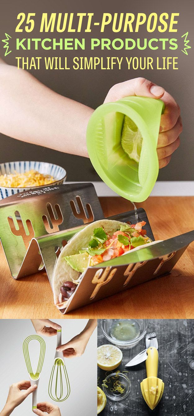 25 Multi-Purpose Kitchen Products That Will Simplify Your Life