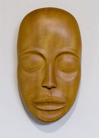 Original Artwork by Tim Aldrich  #face #mask #wallhanging #wallart #nzartist #fineart #carving