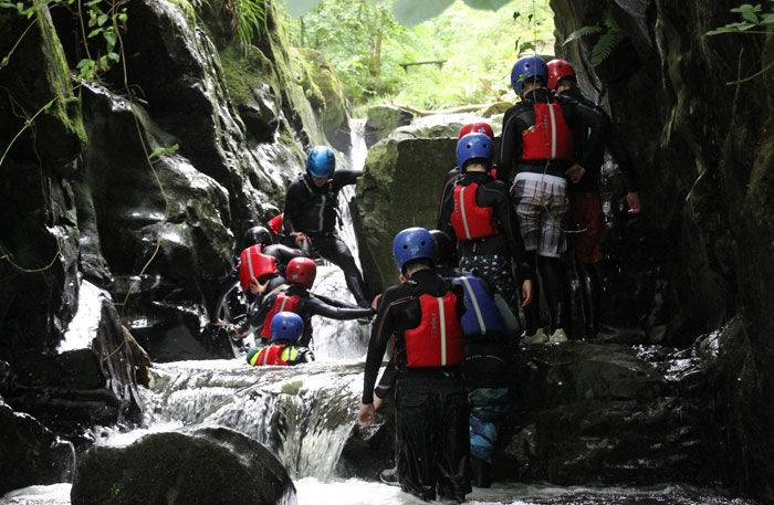 Gorge Scrambling Hen Party Packages