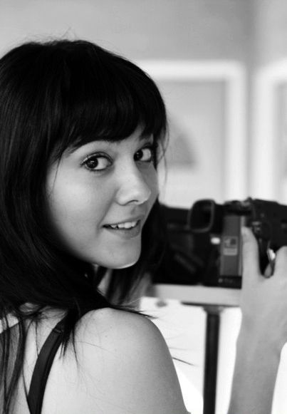 Yeah I just like takin pictures with my really expensive, hipster friendly camera...dammit, that's Mary Elizabeth Winstead again, not me!