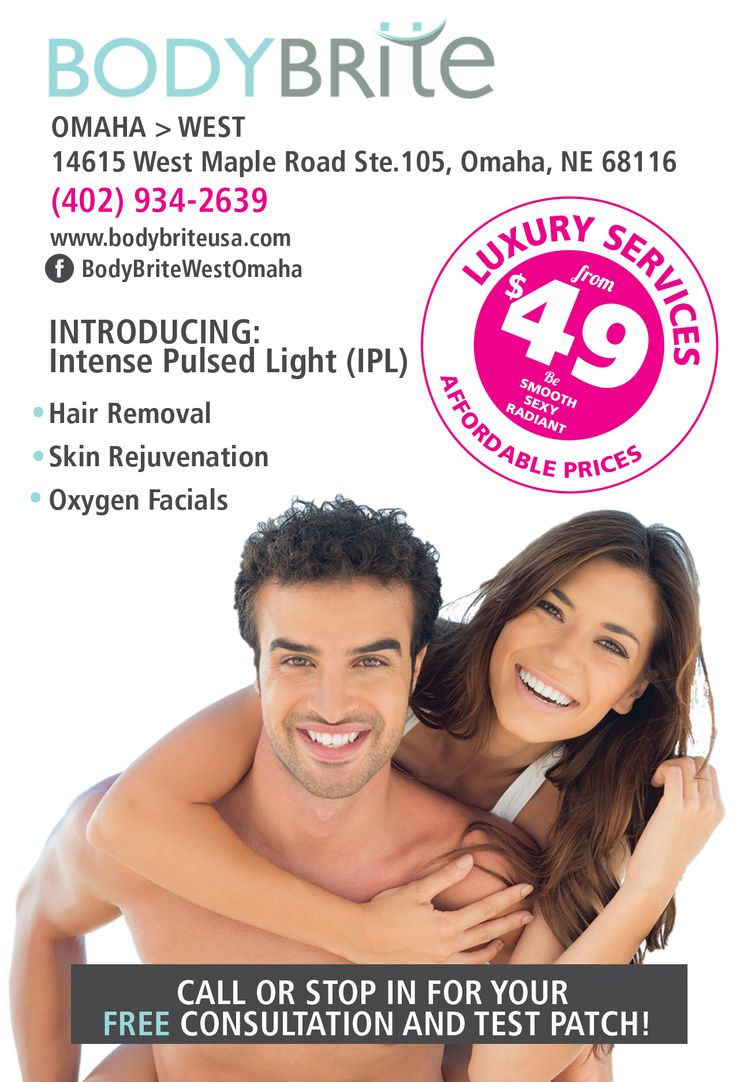Be hair free today with bodybrite hair removal omaha for Tattoo removal baton rouge