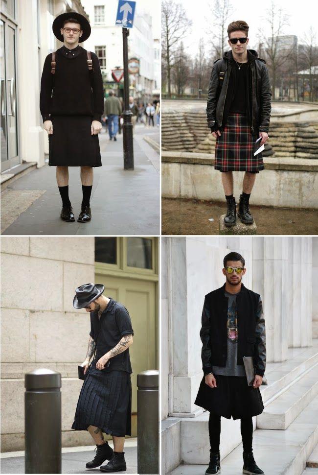 Homens de saia - Como usar saia masculina? - Armário Masculino
