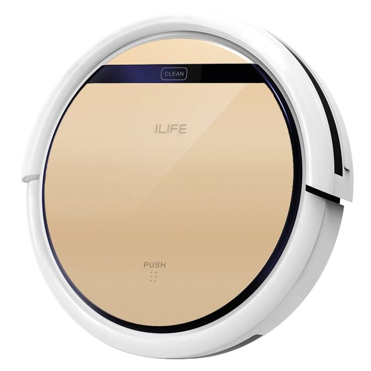 AmazonSmile - ILIFE V5s Robot Vacuum Cleaner with Water Tank Mopping, Gold -