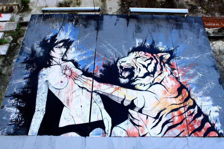 Lisboa, near Rua S. Pedro de Alcãntara #Streetart #Lisboa