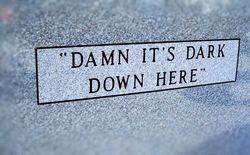 lol....I love a tombstone with a sense of humor!