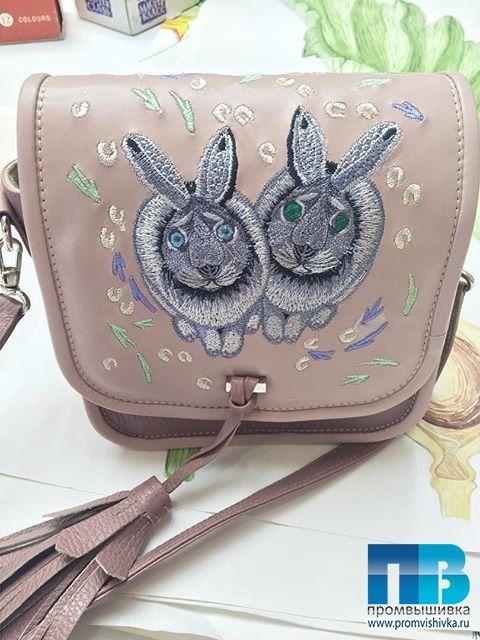 Модные сумки с вышивкой для Alena Akhmadullina
