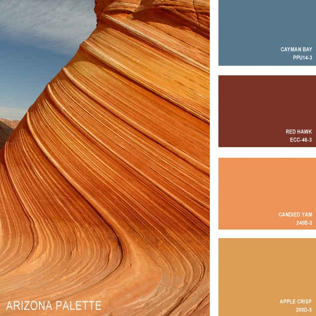 11 Beautiful Color Palettes Inspired By Nature