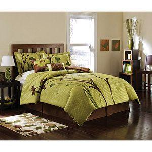 Hometrends Marmon Bedding Comforter Set