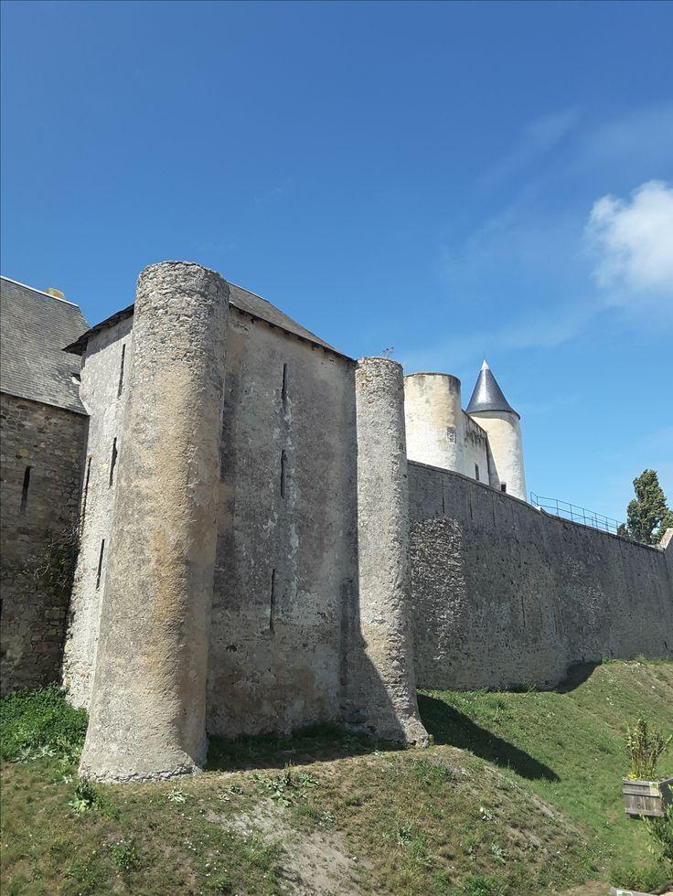 Castle at Ile de Noirmoutier (F)