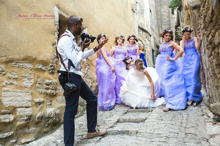Лавандовая свадьба в Провансе. Красивые свадьбы во Франции от Agence d'Elena Armery - Paris