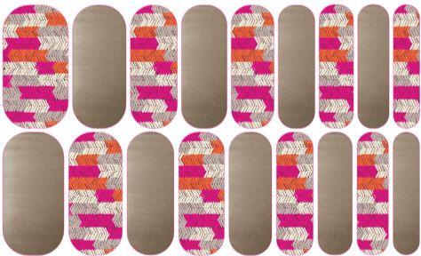 Jamberry NAS, Nail Art, Jamberry Custom Nail Wrap - All Directions