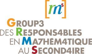 Le GRMS est un regroupement de personnes qui sont intéressées à l'enseignement de la mathématique au secondaire.