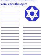 Jewish Crafts, Printables and Activities