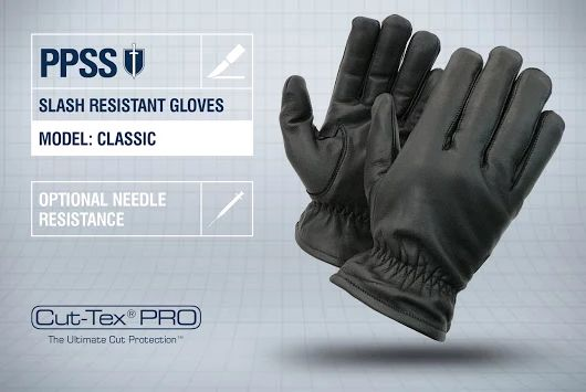PPSS #SlashResistantGloves (Classic) with optional #needleresistance