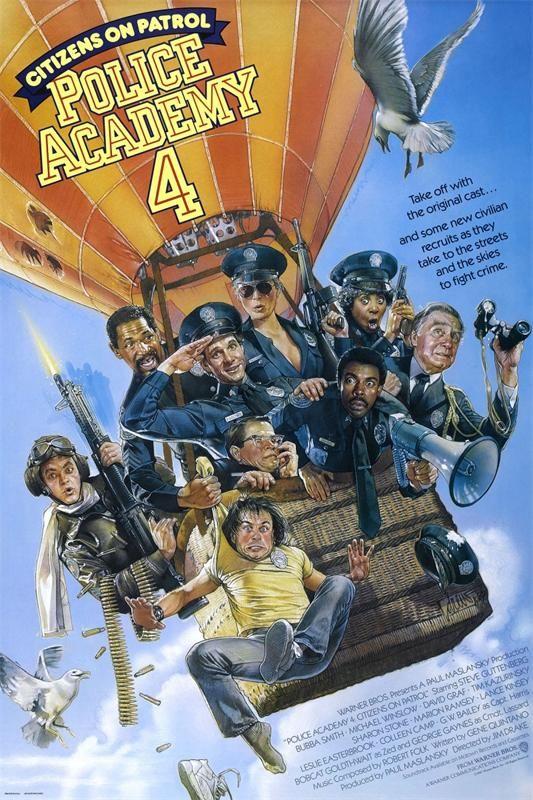 """""""Police Academy 4"""" 1987   Fear Itself Season 1 Episode 5 """"Eater"""" 2008"""