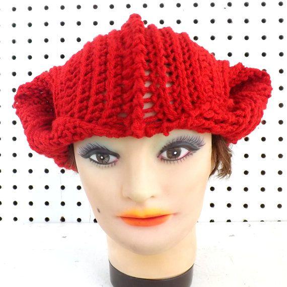 Crochet Caterpillar Hat Pattern : Crochet Womens Hat Patterns - Crochet Cat Ear Hat Beanie ...
