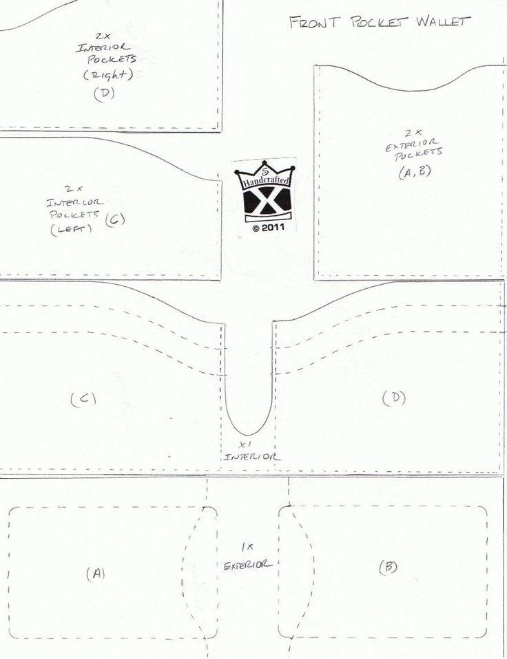 The Grain Side Up!: New Front Pocket Wallet Design/Pattern
