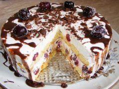 Recept na úžasně chutný nepečený piškotový dort. Je tak dobrý, že trumfne i pečené dorty!
