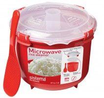 Sistema Plastics http://sistemaplastics.com/recipes/cat/microwave-rice-multi-cooker-recipes/