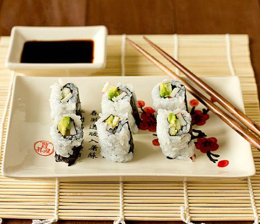 California Rolls (including Sushi Rice) With Rice, Water, Rice Vinegar, Sea Salt, Granulated Sugar, Crabmeat, Cucumber, Avocado, White Sesame Seeds, Nori, Sushi Rice