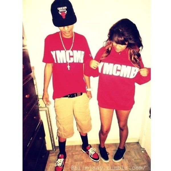 These swag couples Outfits dope stuff ❤ liked on Polyvore featuring accessories and couples