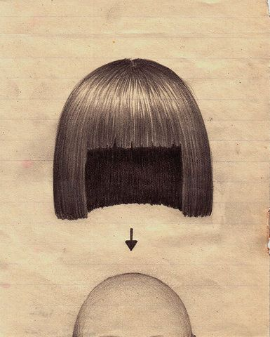 wig: Hair Design, Illustrations, Bobs Hair Drawings, Hairs, Accidents Mystery, Art, Fun Things, Wigs, Inga Birgisdóttir