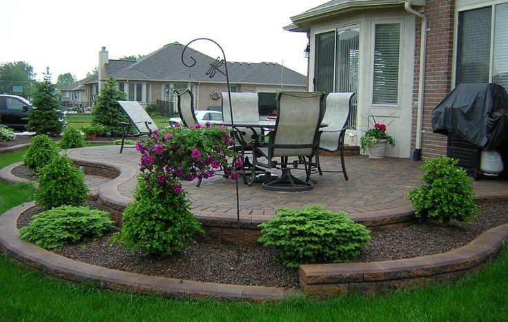 Brick Paver Patios   Michigan Brick Paver Patios and Design by Antonelli Landscape