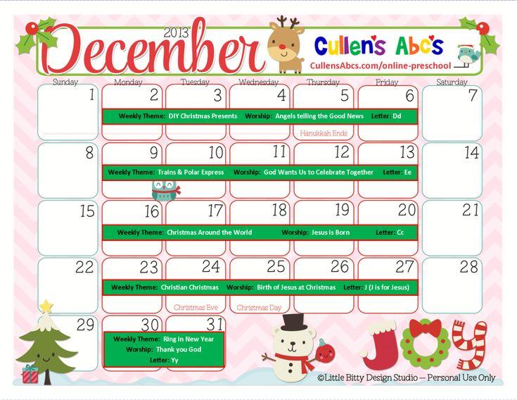 Nursery Calendar Ideas : Best diy online preschool images on pinterest