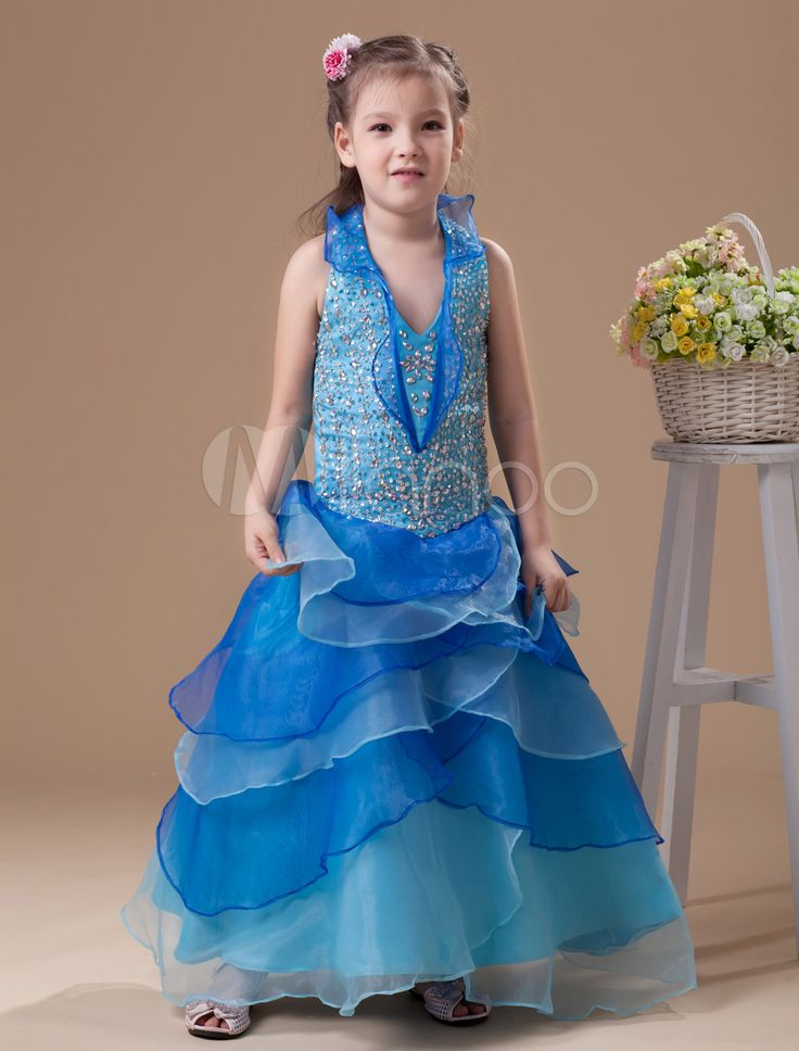 #Milanoo.com Ltd          #Girls Pageant Dresses    #Beautiful #Blue #Organza #Halted #Girl's #Pageant #Dress                     Beautiful Blue Organza Halted Girl's Pageant Dress                            http://www.snaproduct.com/product.aspx?PID=5681478