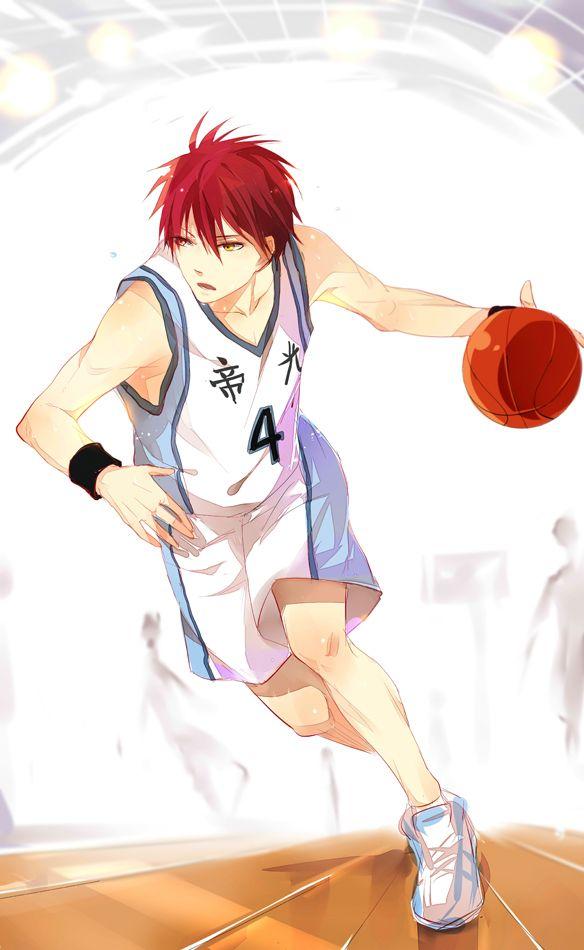 Akashi Seijuurou   Basketball uniform ver - TEIKO arc