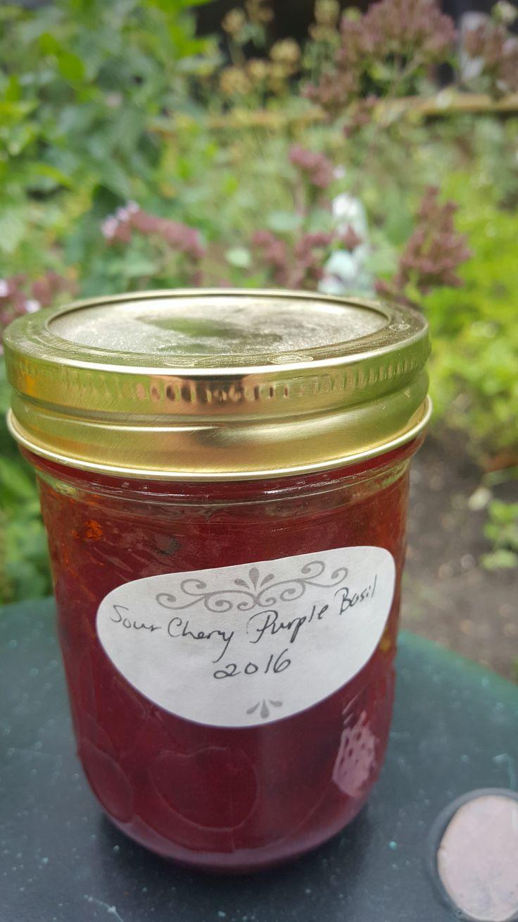 Custom Sour Cherry Jam