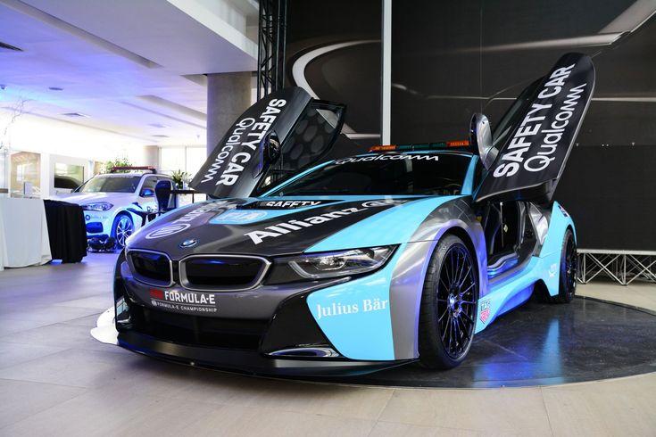 Next Gen Qualcomm Safety Car BMW i8 Coupé