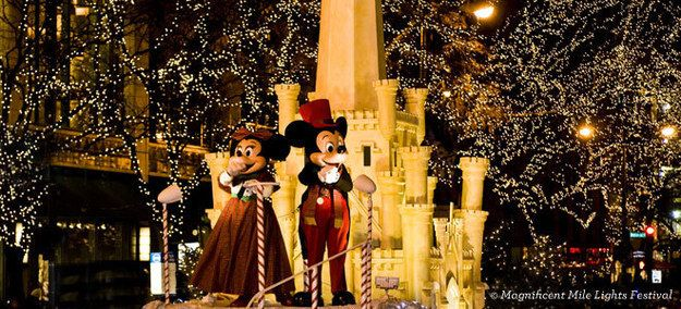 Magnificent Mile Lights Festival   Top 20 Things To Do In Chicago During The Holiday Season!